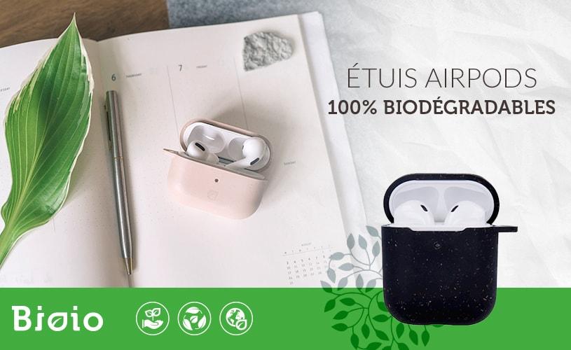 Bioio étuis pour AirPods biodégradables