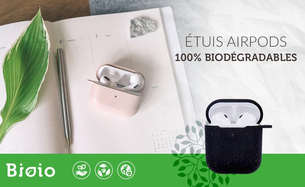 Bioio accessoires téléphone biodégradables
