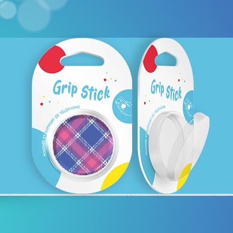 Packaging pour Grip Stick